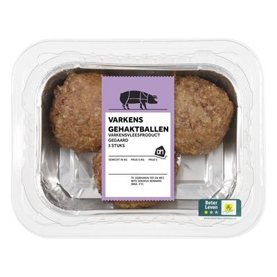 Huismerk Gehaktbal varkensvlees