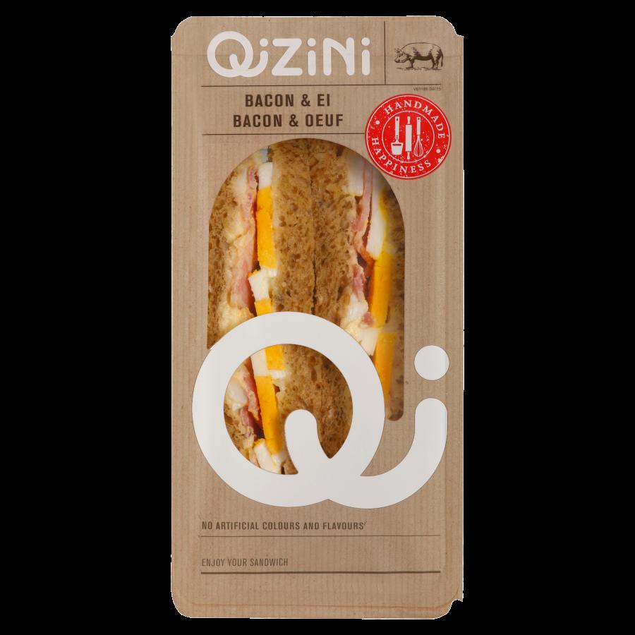 Qizini Sandwich bacon-ei