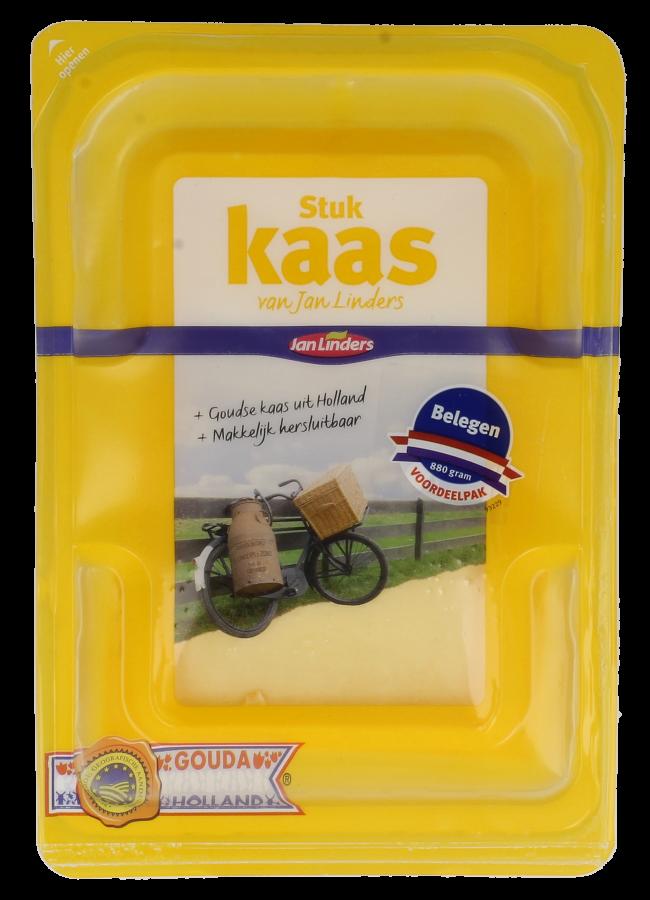 Jan Linders Belegen kaas voordeelstuk