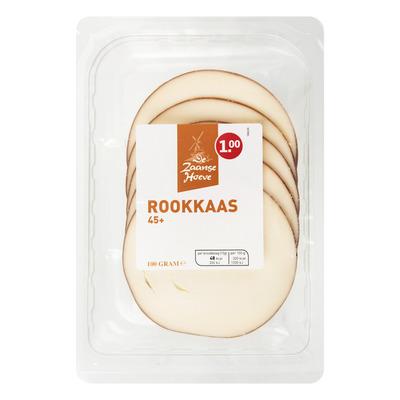 Budget Huismerk Rookkaas 45+ plakken