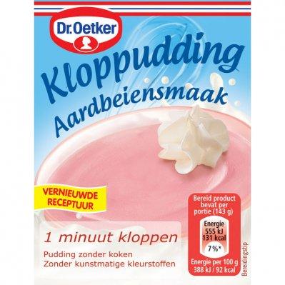 Dr. Oetker Kloppudding aardbei