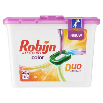 Robijn Wasmiddel duo capsules color