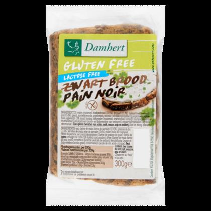 Damhert Glutenvrije zwart brood