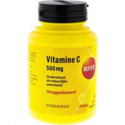 Roter Vitamine C 500 mg kauwtabletten citroen