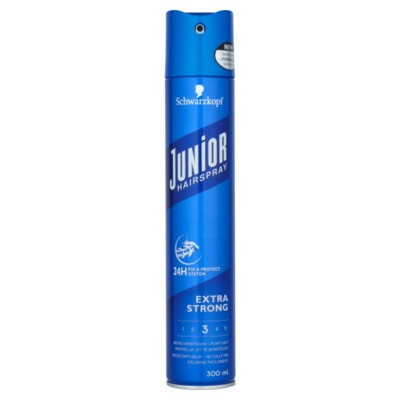 Junior Hairspray Extra Strong 300 ml.