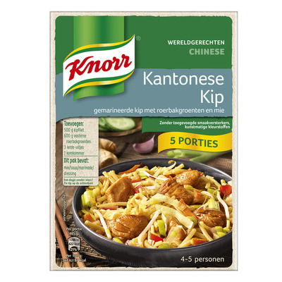 Knorr Wereldgerechten kip kanton