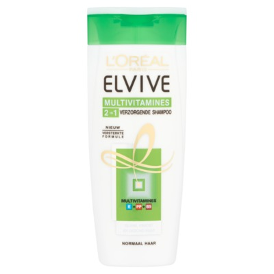 Elvive Multivitamine shampoo 250 ml.