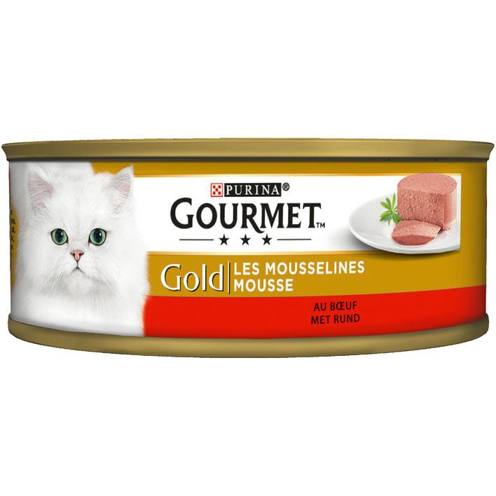 Gourmet Gold mousse met  rund