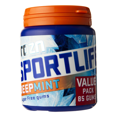 Sportlife Frozn deepmint suikervrij kauwgom