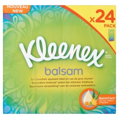 Kleenex balsam zakdoekjes 24-pack