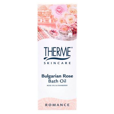 Therme Bulgarian rose bath oil