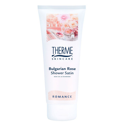 Therme Bulgarian rose shower satin