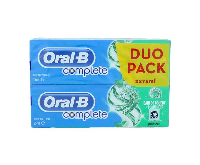 Oral-B mondwater complete duo-pack