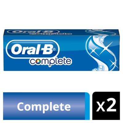 Oral-B complete extra fris duo-pack