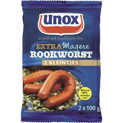 Unox Extra magere rookworst