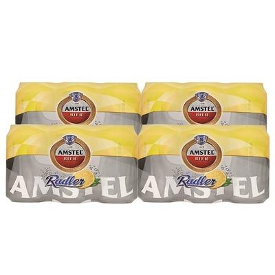 Amstel Radler citroen blik 24 x 33 cl.