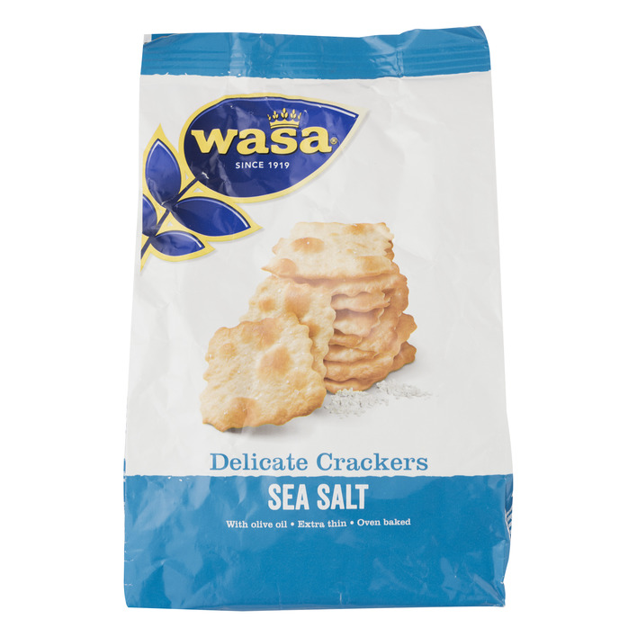 Wasa Delicate cracker seasalt