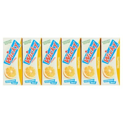 Wicky sinaasappelsap 3x 10-pack