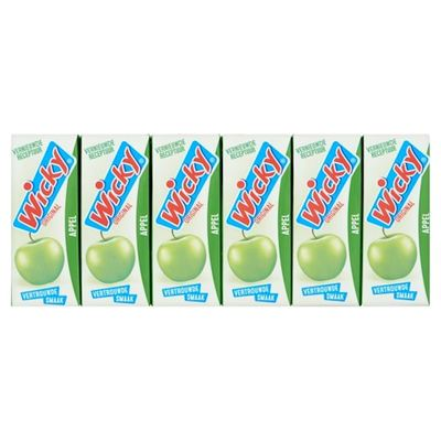 Wicky appelsap 3x 10-pack