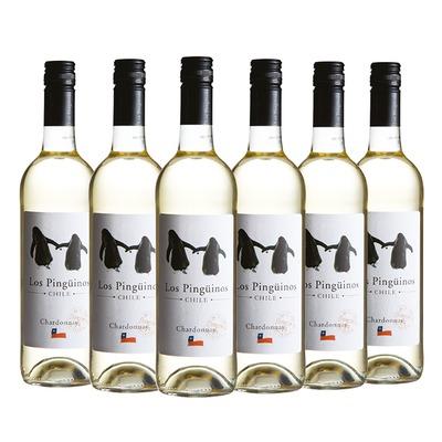 Los Pingüinos Chardonnay 6x 75 cl.