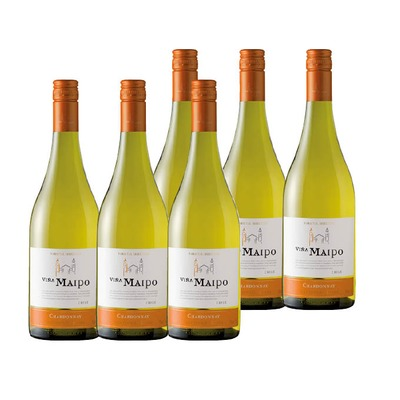 Vina Maipo Chardonnay 6x 75 cl.