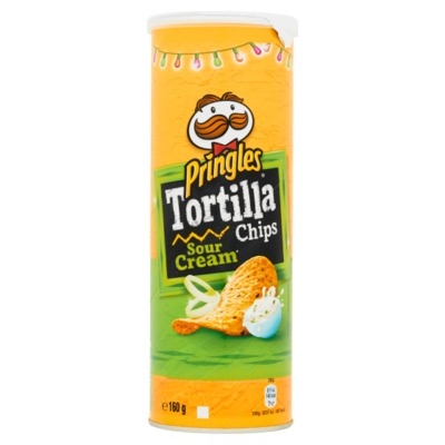 Pringles Tortilla Cream Onion 160 gram