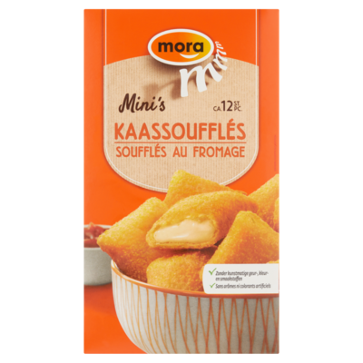 Mora Mini kaassouflés 12 stuks