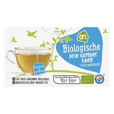 Huismerk Biologisch Drie gember thee