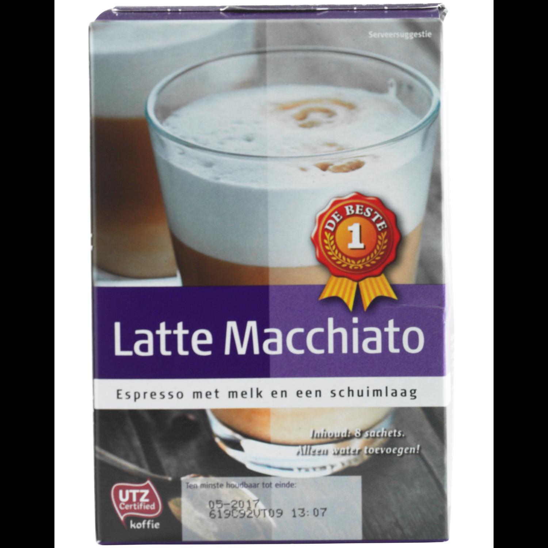 Huismerk Latte macchiato 8 zakjes