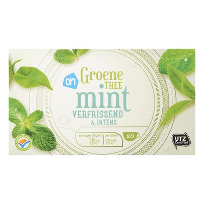 Huismerk Groene thee mint