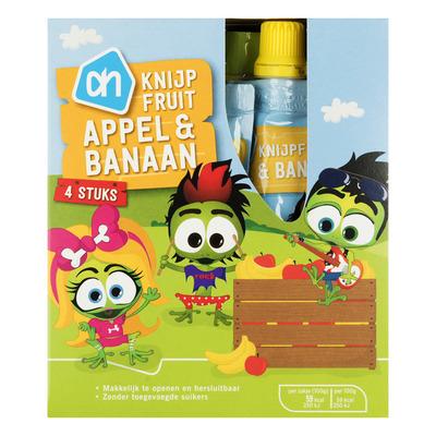 Huismerk Knijpzakje appel-banaan