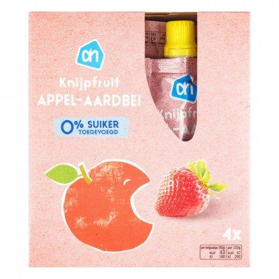 Huismerk Knijpzakje appel-aardbei