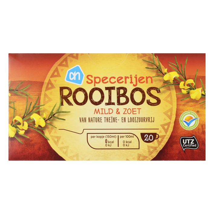 Huismerk Thee specerijen-rooibos mild & zoet