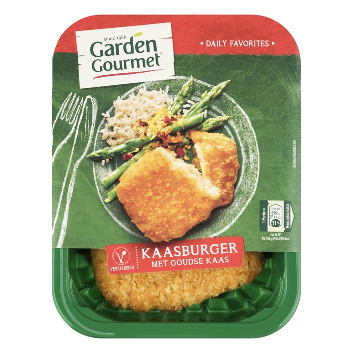 Garden Gourmet Vegetarische kaasburger