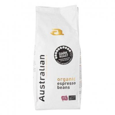 Australian Coffee beans dark roast biologisch