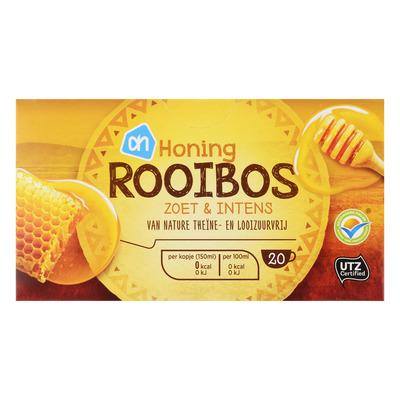 Huismerk Thee honing-rooibos zoet & intens