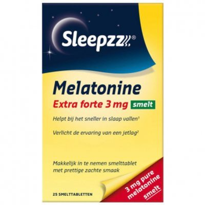 Sleepzz Melatonine extra forte smelt 3 mg