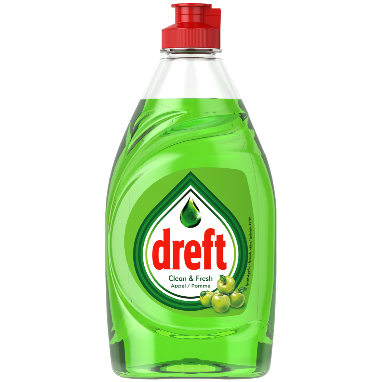 Dreft Afwasmiddel clean & fresh appel