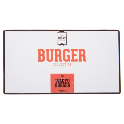 Finest Meat Collection Wagyu burger 4 stuks