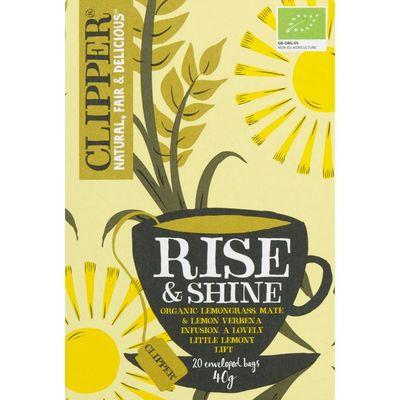 Clipper Rise & shine tea 1-kops
