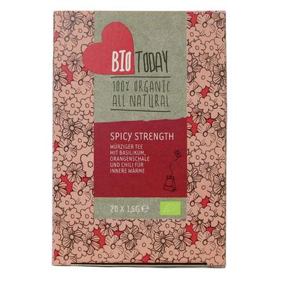 BioToday Spicy strenght tea