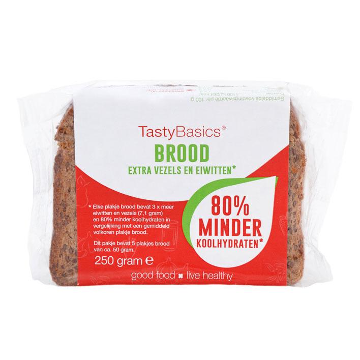 TastyBasics Brood extra vezels en eiwitten