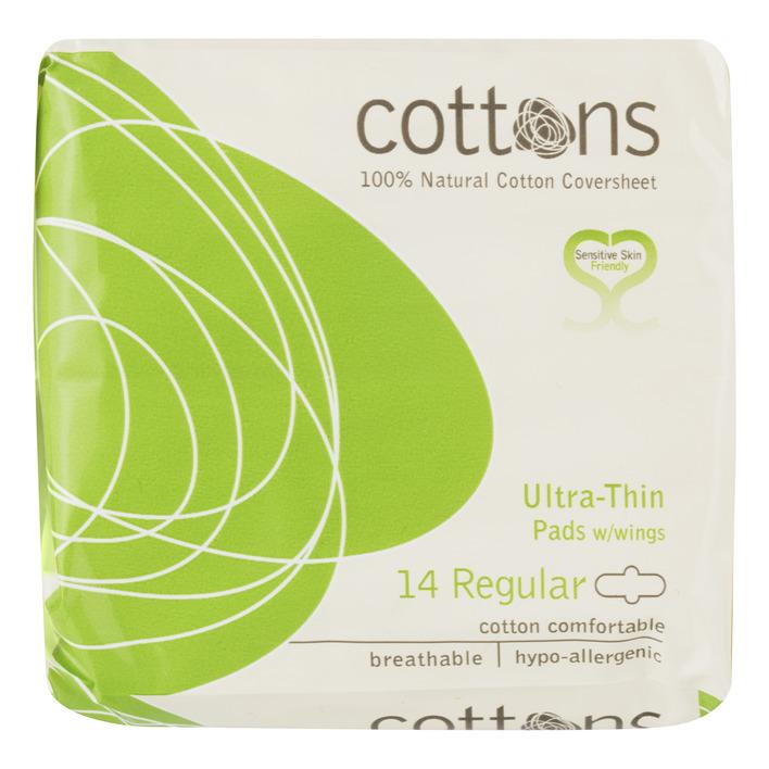 Cottons Ultra-thin pads regular