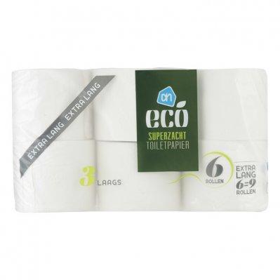 Huismerk Ecologisch toiletpap 3-laags extra lang