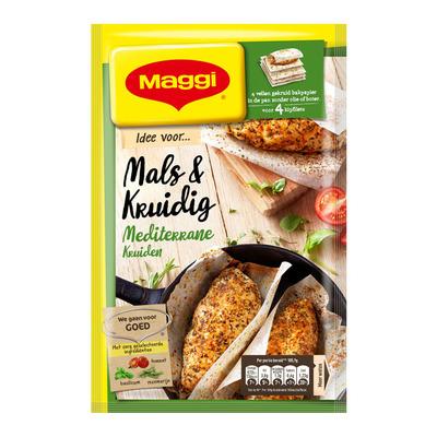 Maggi Mals en kruidig Mediterrane kruiden