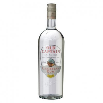 Old Captain Extra dry Caribbean rum