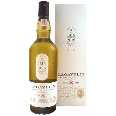 Lagavulin Islay single malt Scotch whisky 8 years