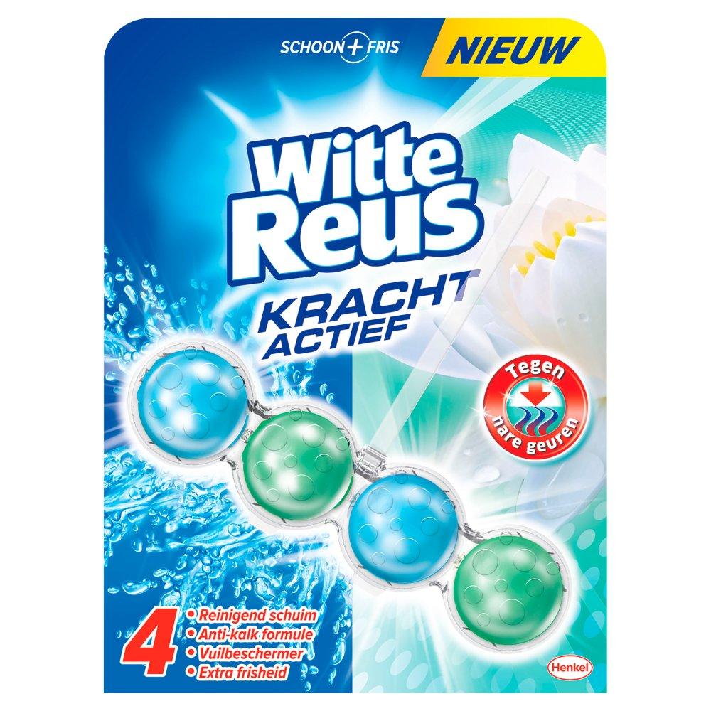 Witte Reus Kracht Actief Tegen Nare Geuren Toiletblok 50 g