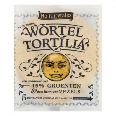 No Fairytales Wortel tortilla wrap