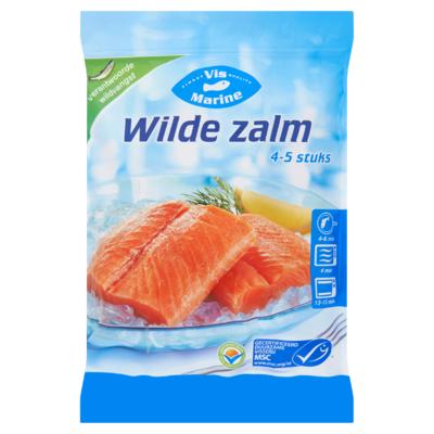 Vis Marine Wilde Zalmfilets 4 tot 5 Stuks 540 g
